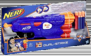 Hasbro Nerf N-Strike Elite Dual-Strike na dva druhy šipek