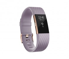Fitbit Charge 2 Lavender Rose Gold, velikost L