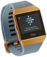 Fitbit Ionic Slate Blue/Burnt Orange - Fitness hodinky