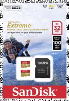 SanDisk microSDHC ActionSC 32GB 2x Extr.100MB