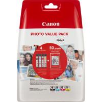Canon CLI-581 Multipack 5.6ml 5.6ml Černá, Azurová, Purpurová, Žlutá inkoustová náplň