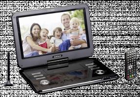 Lenco DVP-1273 Přenosný DVD přehrávač, černá
