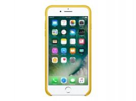 Apple iPhone X kožený obal, Žlutý (MQ5H2ZM/A)