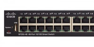Cisco SF250-48 48-port 10/100
