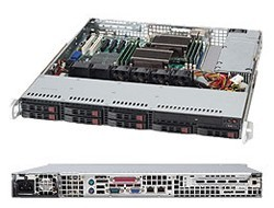CSE-113MTQ-600CB 1U CHASSIS server