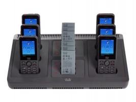 Cisco Multi-Charger - Nabíjecí stojan pro telefon / nabíjčeka na baterii + napájecí adaptér - pro I