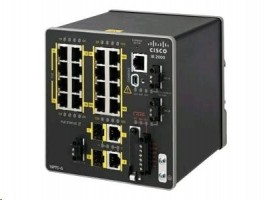 Cisco Industrial Ethernet 2000 Series - switch - řízený - 16 x 10/100 (PoE+)