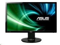 """ASUS VG248QE - 3D LCD monitor - 24"""" - 1920 x 1080 FullHD - TN - 350 cd/m2 - 1000:1 - 80000000:1 (dynamický) - 1 ms"""