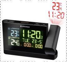 Bresser hodiny s promítáním a barevným displayem