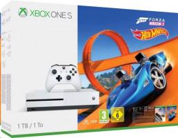 Microsoft Xbox One S 1TB, Bílá + Forza Horizon 3 (234-00271)