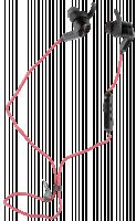 Huawei AM60 Sport Bluetooth Sluchátka, červená