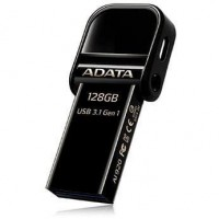 Adata i-Memory Flash Drive AI920, 128GB, Lightning / USB 3.1 Gen1, black