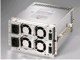 Zippy MRW-5450V4 Mini-Red, 80+, 2x450W, Zdroj pro server
