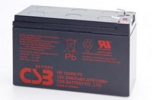 CSB sada 3 baterií HR1234W 12V/9Ah