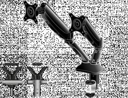 iiyama - dvojité rameno s plynovou pružinou