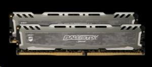 Ballistix Sport LT 16GB sada DDR4 8GBx2 2400 DIMM 288pin grey