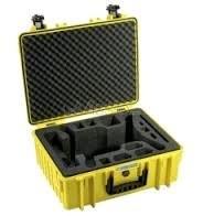 B&W Copter Case Type 3000/Y yellow s DJI Mavic Pro Inlay
