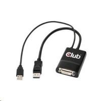 Cable DP to DVI-D DL adaptér aktiv
