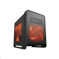Case Midi MS-TECH skříň Q1/B černá/červená