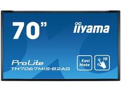 """70"""" LCD iiyama ProLite TH7067MIS-B2AG -5 ms, 4 000:1, 350 cd, FHD, VGA, DVI, HDMI, USB, RS232C, LAN, dotykový"""