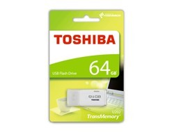Toshiba Transmemory U202 64 GB bilá