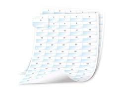 LABEL POLYESTER SELF-LAMINATIN Bílé na průhledné listy štítků