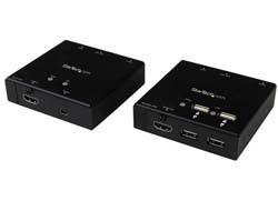 HDMI OVER CAT6 s USB - 50M Transmitter a ampreceiver