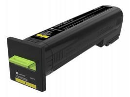 CX82x, CX860 Yellow High Yield Return Program Toner Cartridge - 17 000 stran