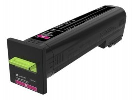 CX82x, CX860 Magenta High Yield Return Program Toner Cartridge - 17 000 stran, 82K2HM0