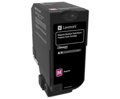 CS720, CS725, CX725 Magenta standartní Yield Return Programme Toner Cartridge - 7 000 stran