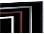 """48"""" Samsung rámeček pro LFD - černý"""