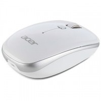 ACER RF2.4 Wireless Optiocal Mouse Moonstone White