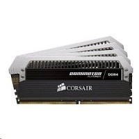 Corsair Dominator® Platinum, paměťová sada DDR4 DRAM 32 GB(4x 8GB), 3200 MHz