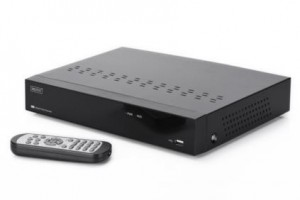 DIGITUS Plug&View NVR, 4 channels, 720p, for Plug&View System only,10/100/1000Mbps, 2 x USB2.0,10W, incl. 1TB HDD