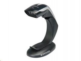 Datalogic Heron HD3430, 2D, multi-IF, sada(USB), černá (skener, USB kabel, stojan)