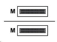 Dell - Síťový kabel - 40GbE Passive Copper Direct Attach kabel - QSFP+ - QSFP+ - 3 m