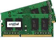 Crucial RAM 2 x 4GB (8GB) SODIMM DDR3 1600MHz C11 sada