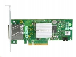 Dell - Řadič úložiště - 8-kanálový - SAS 2 - 600 MBps - PCIe x8 - pro PowerEdge R320, R420, R820, T110, T320, T420,