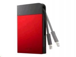 BUFFALO MiniStation Extreme - Pevný disk - 1 TB - externí (přenosný) - USB 3.0 - červená