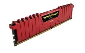 Corsair Vengeance LPX DDR4 DRAM 4GB (1x4GB) 2400MHz CL14 červená