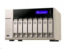 TVS-863-8G 8BAY 2.4GHZ QC