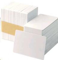 Zebra Z6 Bílé PVC karty s magnetickým proužkem - 500 karet