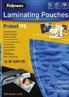 Fellowes A3 lesklý 175 Micron Laminating Pouch - 100 pack