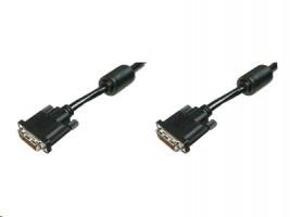 Cable DVI-D 24+1 Dual Link M/M 2m black