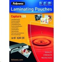Fellowes A2 125 Micron Laminating Pouch 50-pack