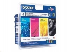 Brother Ink LC-1100HY Value Pack