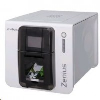 Evolis Zenius Classic, single sided, 12 dots/mm (300 dpi), USB, red