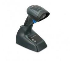 Datalogic QuickScan Mobile QBT2430, 2D, BT, multi-IF, sada (RS232), černá (skener, RS232 kabel, kolébka, napájení)
