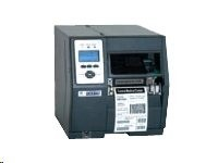 "Datamax H-Class H-4408, Thermal Transfer, 400dpi, USB, RS232, LPT, 3.0"" plastic media hub"