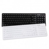 PrehKeyTec SIK 2500, US-layout, alpha, USB, černá